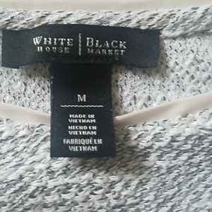 White House Black Market Tops - WHBM layered look pullover